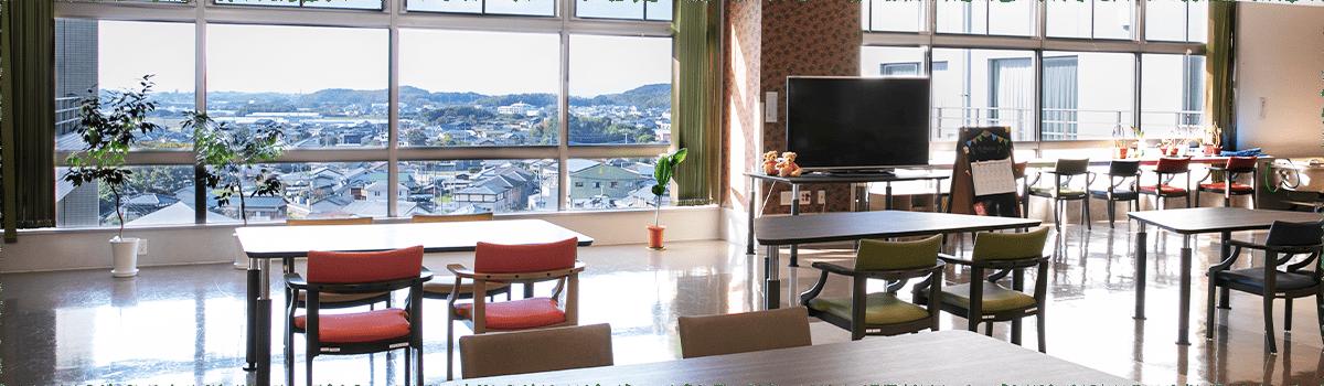 写真:有料老人ホーム 姫野タワー楝の外観