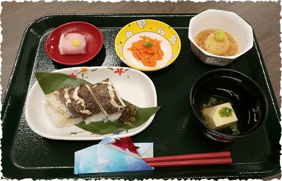 写真:食事サンプル2